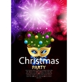 Abstract Beauty Merry Christmas and New Year Party vector image vector image
