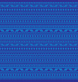 abstract blue tribal stripes seamless vector image