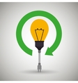 Alternative energy design vector image