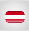 austria flag design vector image vector image