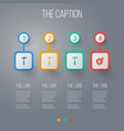 icon construction set of spanner hammer vector image vector image
