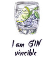 im ginvincible vector image vector image