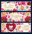 save date wedding date congrats love forever vector image vector image