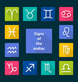 signs zodiac vector image