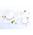 technological abstract modern digital board art vector image vector image