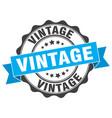 vintage stamp sign seal vector image vector image