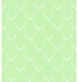White Line leaves seamless pattern on green vector image vector image