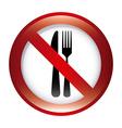 dont food design vector image