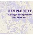 Grange background vector image
