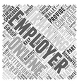 In Support Of Employer Sponsored Online Computer vector image vector image