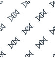 seamless dna pattern education symbol from icon vector image