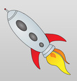 Spaceship Cartoon vector image vector image