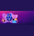 sports games concept banner header vector image