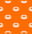 stadium top view pattern seamless vector image vector image