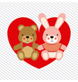baby design over lineal background