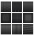 carbon fiber seamless pattern backgrounds vector image