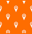 geo taxi pattern seamless vector image vector image