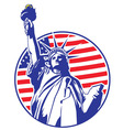 Liberty statue vector | Price: 1 Credit (USD $1)