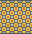 seamless mandala pattern vintage elements in vector image vector image