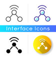 share icon vector image vector image