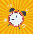 Wake up time vector image