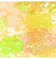 Watercolored splash blot pattern in white color vector image
