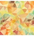 Abstract retro geometric triangle background vector image vector image