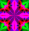 Abstract Symmetric Colorful Background vector image