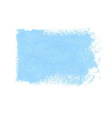 Blue acrylic Banner vector image vector image