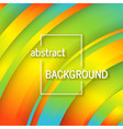 geometric background with abstract circles shapes vector image vector image