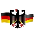 symbols of germany vector image vector image