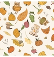 Thanksgiving Doodle Pattern vector image vector image