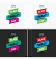 Black Friday sale design template Creative banner vector image vector image