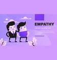 empathy vector image