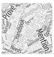 employee handbook Word Cloud Concept vector image vector image