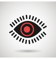 eye icon design vector image vector image