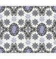 medallion pattern vector image vector image