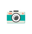 photo camera of green color vector image vector image