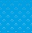 shopwindow pattern seamless blue vector image vector image