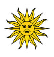 sun 2 vector image vector image