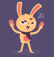 Angry Bunny Tearing a Heart Apart