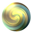 circle with a swirling multicolor whirlpool the vector image vector image