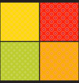 collection citrus seamless patterns grapefruit vector image vector image