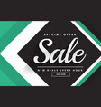 create sale banner design for your product vector image vector image