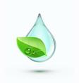 green environment concept vector image vector image