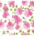 linum seamless pattern for fabric swatches vector image vector image
