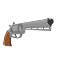 Love Gun Weapons for shooting kisses Magnum heart vector image vector image