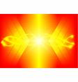 modern design orange light abstract background vector image vector image