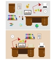 office space vector image vector image