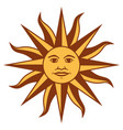 sun u vector image vector image
